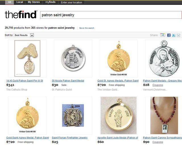 Patron Saints Jewelry: Patron Saints Jewelry - Saint Francis Pendant