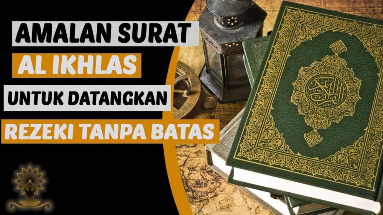 Khasiat Al Fatihah Untuk Kekayaan
