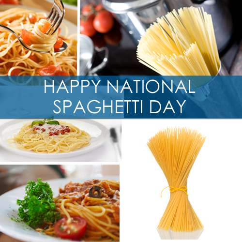National Spaghetti Day Wishes Images