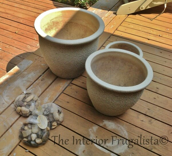 DIY Plant Pot Water Fountain Flower Pots