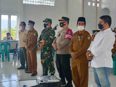 Pelaksanaan vaksin merdeka hari kedua di Kabupaten Bener Meriah