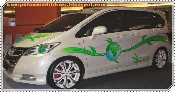 Modifikasi Simpel Honda  Freed