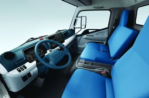 interior truck mitsubishi fuso