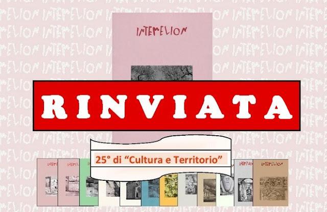Ventimiglia, rinviata per solidarietà la presentazione di Intemelion