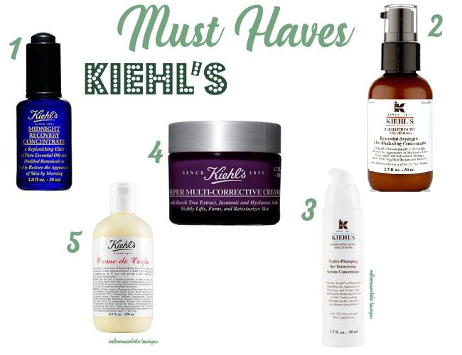 Los 5 productos de KIEHL'S más vendidos - Best Sellers