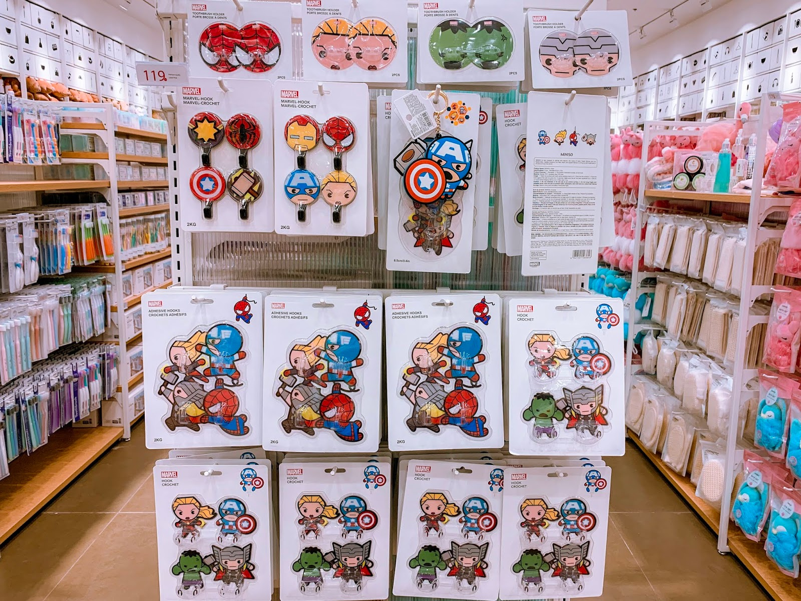Miniso x Marvel Collection by Jexx Hinggo