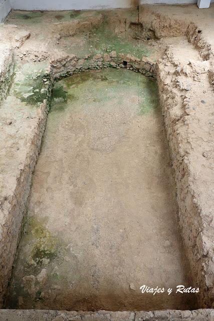 Piscina de la Villa romana de La Tejada, Palencia