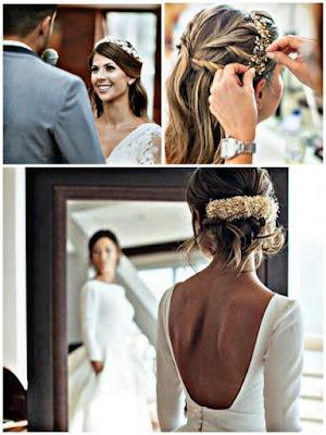 Peinado y maquillaje para novias - Bodas
