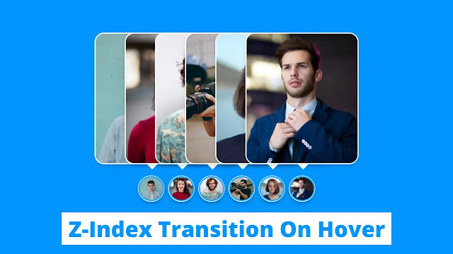 Z-Index Transition on Image using CSS