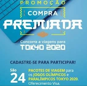 Promoção Compra Premiada Caixa Visa Olimpíadas Tokyo