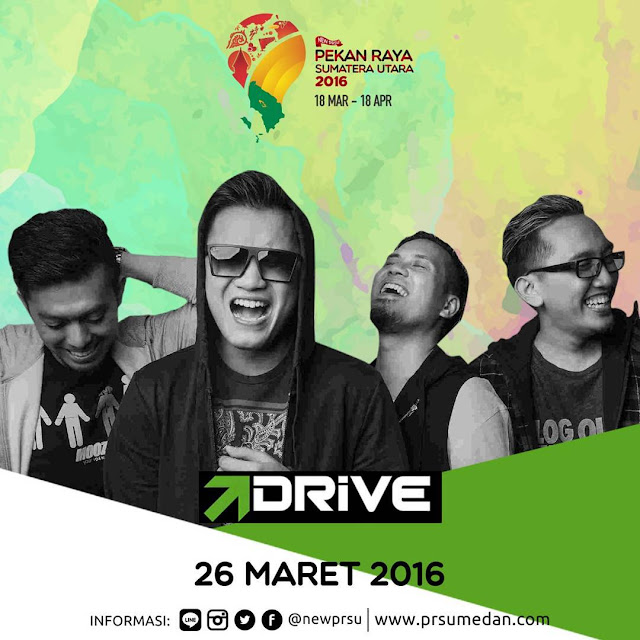 Penampilan Drive di Pekan Raya Sumatera Utara 2016