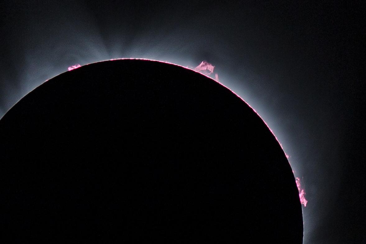 Loạt hình ảnh nhật thực thế kỷ trên đất Mỹ