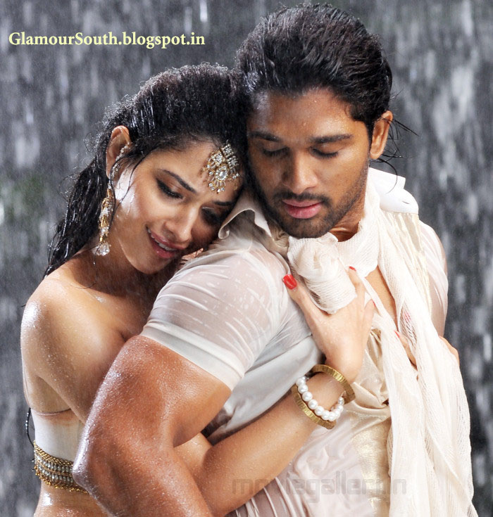 Tamanna In Saree In Rebel: GlamourSouth.blogspot.in: Tamanna Hot And Spicy In Telugu