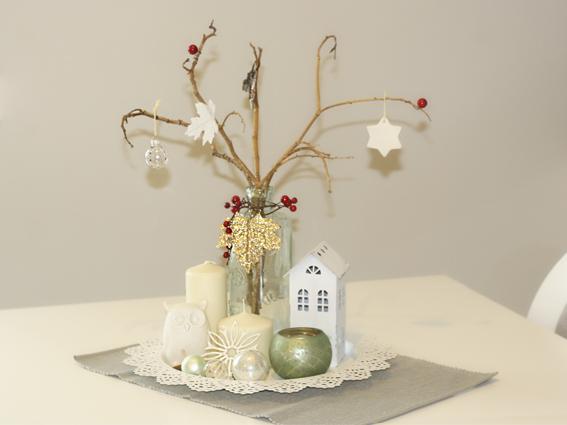 Lluvia de ideas nuestros centros de mesas de navidad for Centro mesa navidad manualidades