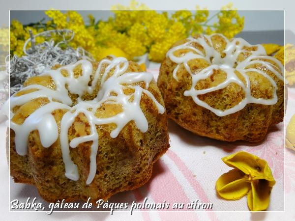 Le babka : gâteau de Pâques polonais au citron