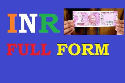 INR-full-form