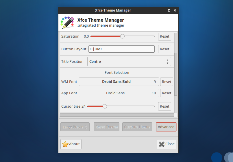 Xfce Theme Manager: A Single GUI To Change Any Xfce