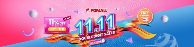PG Mall Malaysia Online Shopping 11.11 Penang Blogger Influencer Malaysia