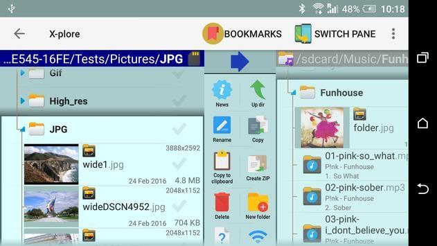 تحميل تطبيق X-plore File Manager