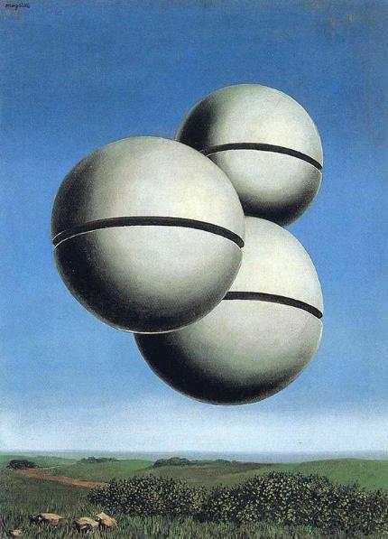 Personificación del pensamiento obsesivo. Magritte-%2BLa%2Bvoz%2Bdel%2Bespacio%252C%2B1