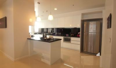 Phòng bếp trong một căn nhà của Galaxy 9