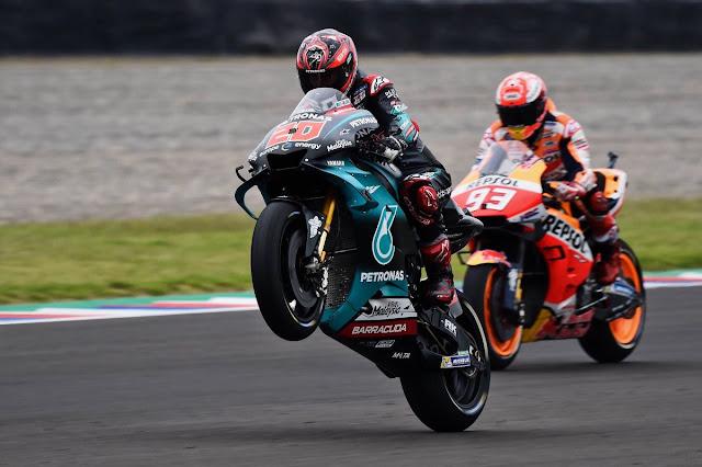 Fabio Quartararo Raih Posisi Pole Pertama Ungguli Marc Marquez di Sirkuit Catalunya