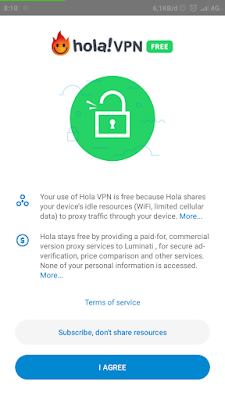 How to use and activate the Hola Free VPN Proxy application