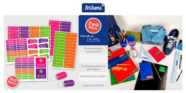 Sorteo en The Glitter teacher: paquete básico STIKETS