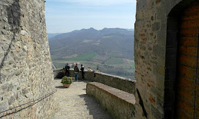 From its hilltop location, Montone offers some spectacular views of the surrounding countryside