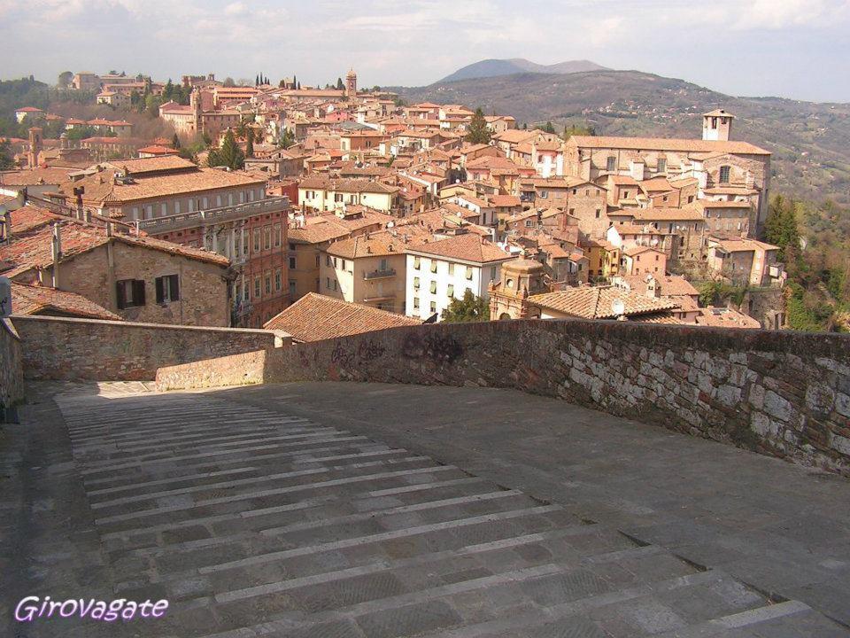 Perugia panorama chiesa Sant'Angelo Pace
