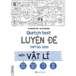 Sketch test Luyện đề THPTQG 2020 môn Vật Lí TV ebook PDF-EPUB-AWZ3-PRC-MOBI