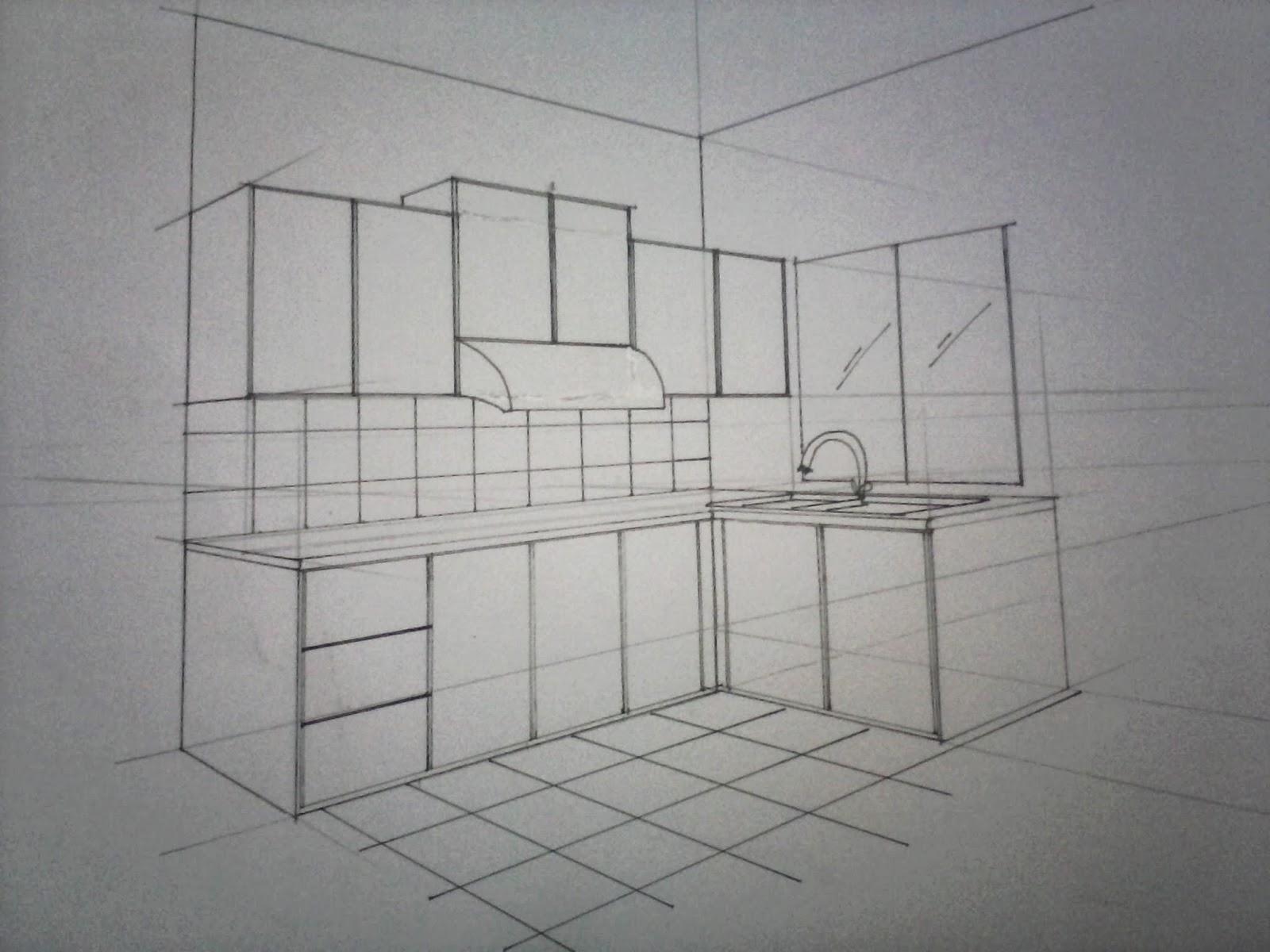 Lukis Kabinet Dapur Desainrumahid com