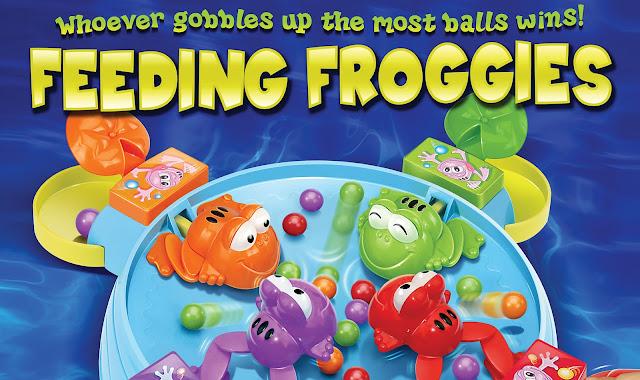 Feeding Froggies game box by Paul Morton