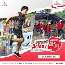 PRU25 Acteev Virtual Walk & Run • 2020