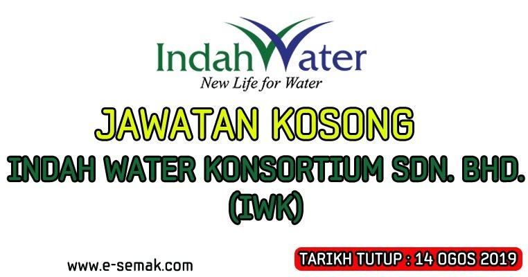 Jawatan Kosong Indah Water Konsortium Iwk 2019 E Semak Com