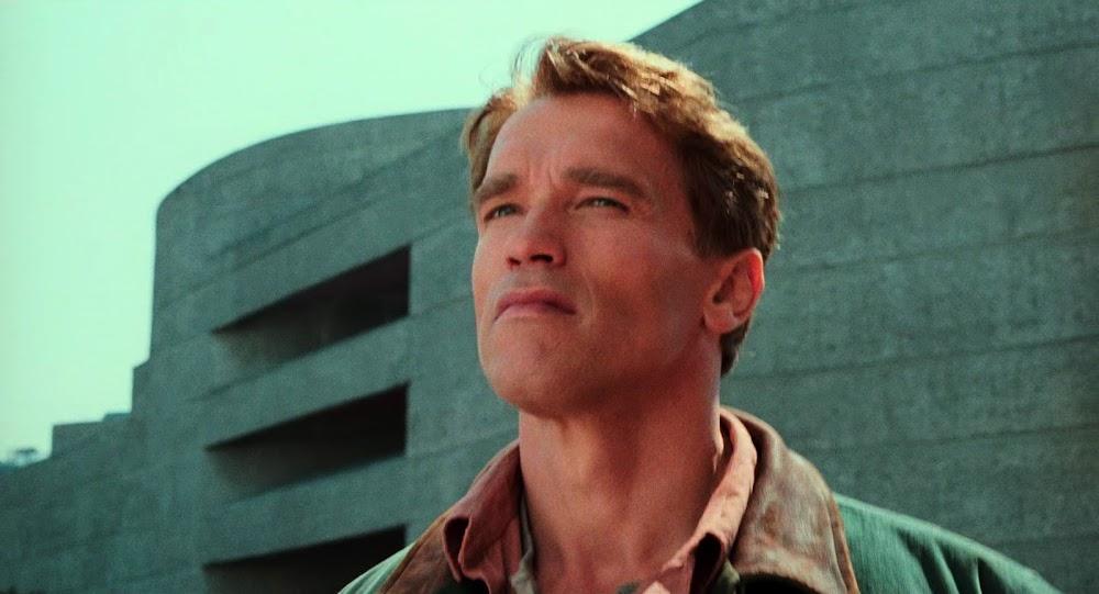 Brutalist architecture in Total Recall (1990) - Arnold Schwarzenegger