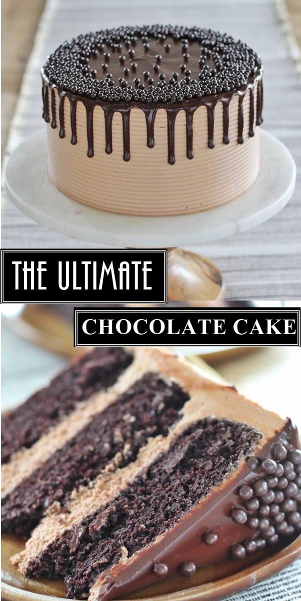 THE ULTIMATE CHOCOLATE CAKE #Cakerecipes