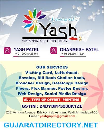 YASH GRAPHICS & PRINTERS - 9825011624 |  9998026361