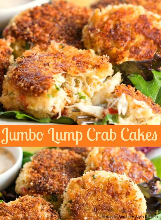 Jumbo Lump Crab Cakes #recipes #dinnerrecipes #dinnerideas #foodrecipes #foodrecipeideasfordinner #food #foodporn #healthy #yummy #instafood #foodie #delicious #dinner #breakfast #dessert #lunch #vegan #cake #eatclean #homemade #diet #healthyfood #cleaneating #foodstagram