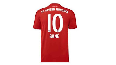 يبقى ساني مع رقم كوتينيو في بايرن ميونيخ