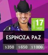 espinoza paz feria tijuana 2016