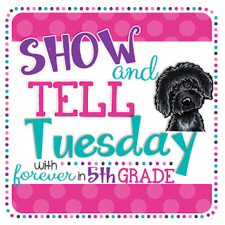 http://foreverinfifthgrade.blogspot.com/2016/01/show-tell-tuesday-first-ever.html