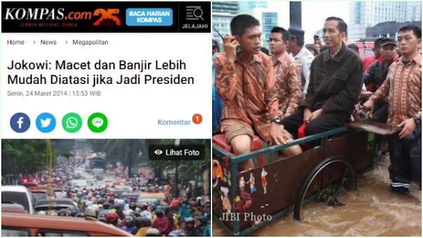 Ingat Janji Jokowi soal Banjir, Farid Gaban: Jangan Heran Kalau Ada yang Dorong Tambah 1 Periode Lagi