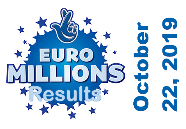 EuroMillions Results for Tuesday, October 22, 2019