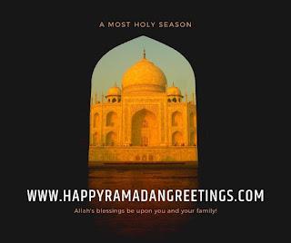 Blessed Ramadan Greetings 2021