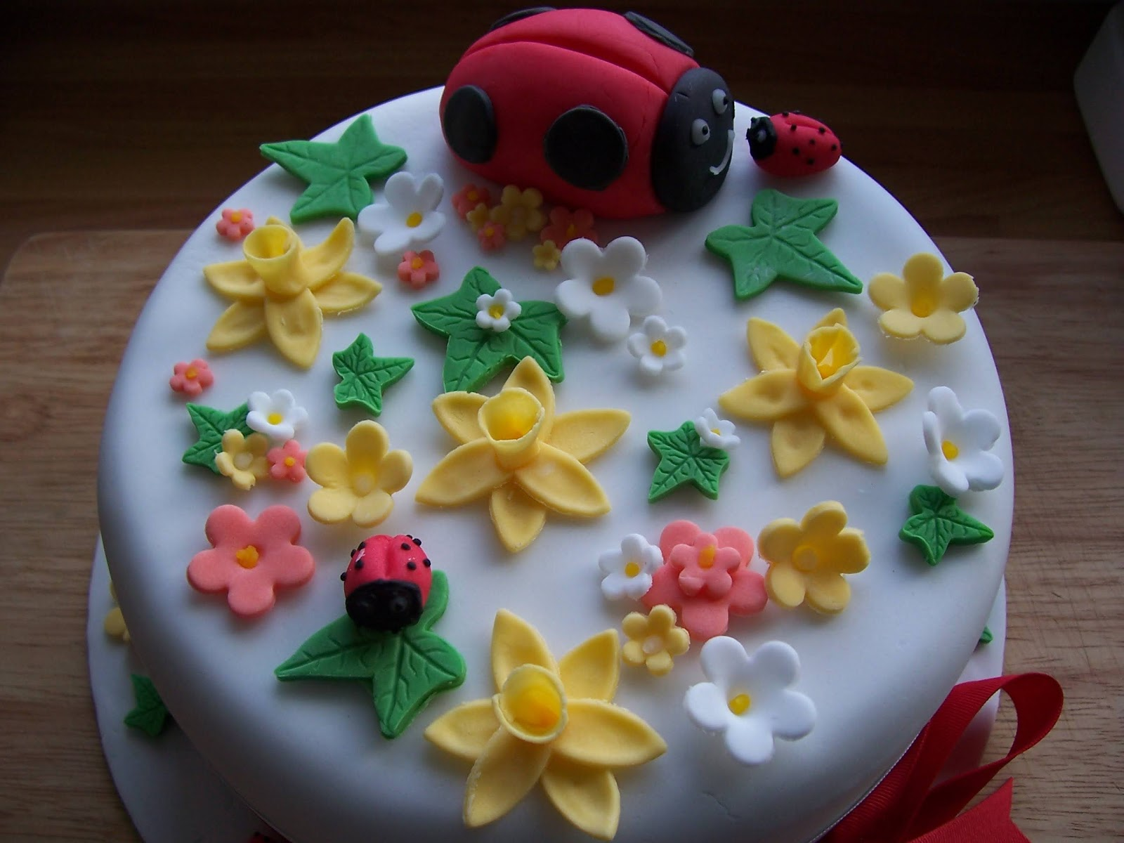 Good Food Shared Ladybird Birthday Cake