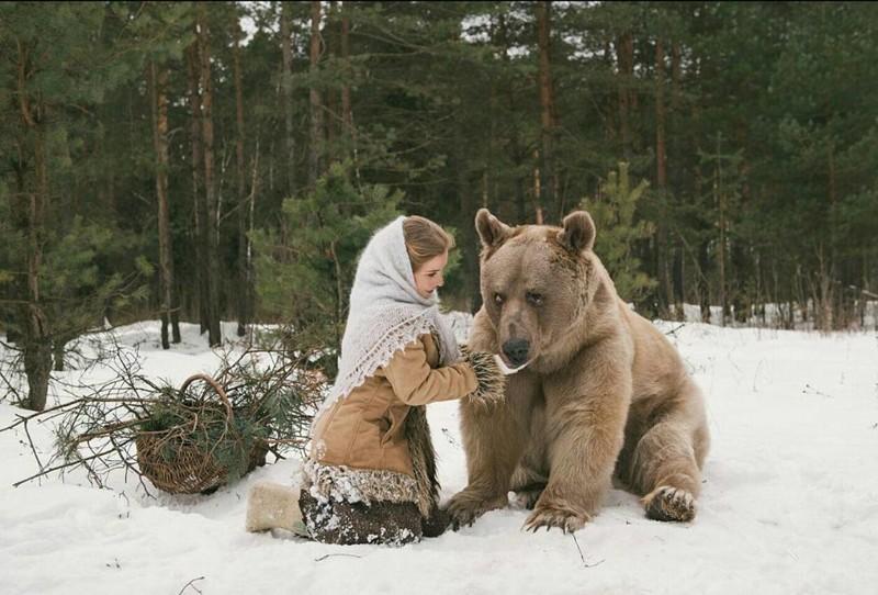 Медведь Степан. Самый добрый медведь в мире (14 фото)