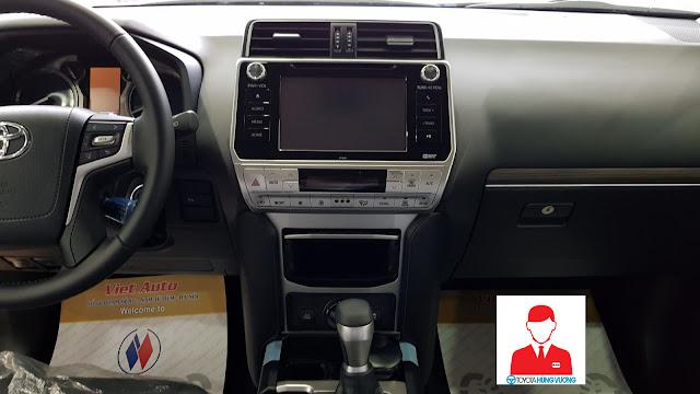 Giá xe Toyota Land Cruiser 2018 ảnh 17