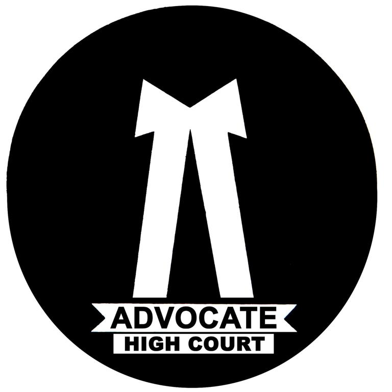 ADVOCATE Means Combination of 8 qualities Indian Advocate Logo