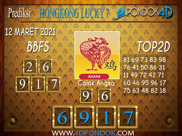 Prediksi Togel HONGKONG LUCKY7 PONDOK4D 12 APRIL 2021